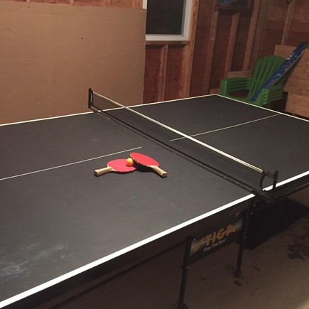South Dennis Cape Cod vacation rental - Kids (young and old) love the ping pong table!