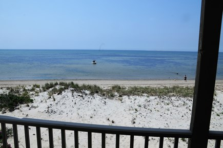 North Truro Cape Cod vacation rental - View from Bay side Balcony
