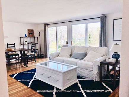 South Dennis Cape Cod vacation rental - Living / Dining Area