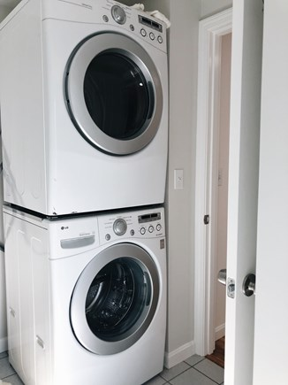 South Dennis Cape Cod vacation rental - Laundry Machines