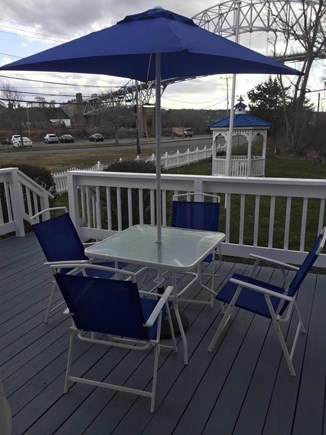 Sagamore Beach Sagamore Beach vacation rental - Deck over looking the Cape Cod Canal