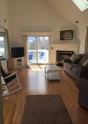 Sagamore Beach Sagamore Beach vacation rental - Living room with queen size pull out couch