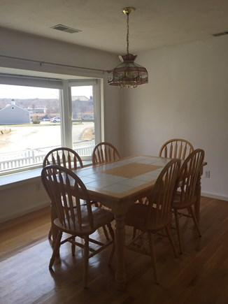 Sagamore Beach Sagamore Beach vacation rental - Kitchen table with views of the Cape Cod Canal