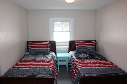 Bourne Cape Cod vacation rental - Downstairs bedroom with twins