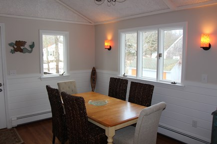 Bourne Cape Cod vacation rental - Dining area