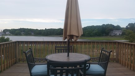Bourne, Pocasset Cape Cod vacation rental - Can't you just imagine yourself enjoying dinner with a view?