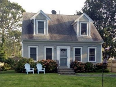 South Yarmouth Cape Cod vacation rental - Front of house, on quiet side road.