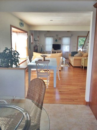 South Yarmouth Cape Cod vacation rental - Eat in Kitchen, Dinning Room and Living Room, Open Concept