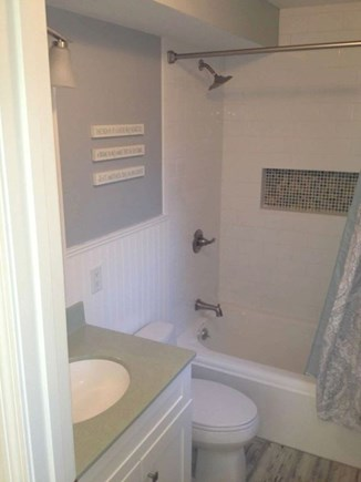 South Yarmouth Cape Cod vacation rental - Newly remodeled first floor bath.