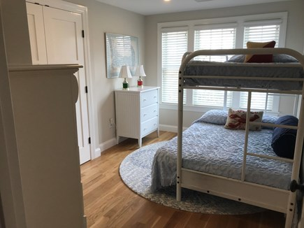 West Yarmouth Cape Cod vacation rental - Twin over double bunk bed, plenty of bureau space, views of Bay.