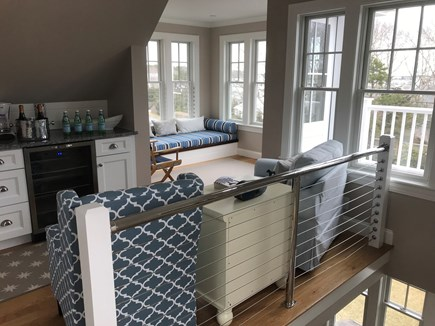 West Yarmouth Cape Cod vacation rental - 3rd Floor offers wet bar with refrigerator/sink and 1/2 bath.