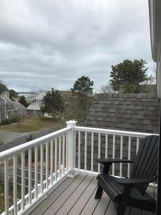 West Yarmouth Cape Cod vacation rental - Two decks on 3rd floor capture sunrise & sunset Lewis Bay views!