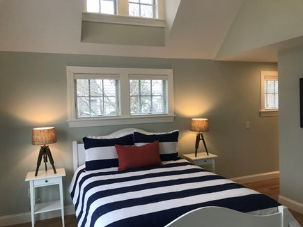 West Yarmouth Cape Cod vacation rental - Master Bedroom features a vaulted ceiling and walk-in closet.