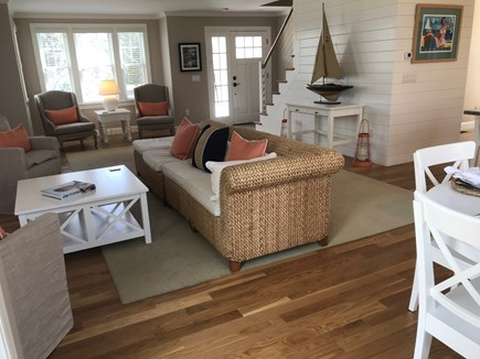 West Yarmouth Cape Cod vacation rental - Custom woodwork and beautiful marine cable stair banisters!