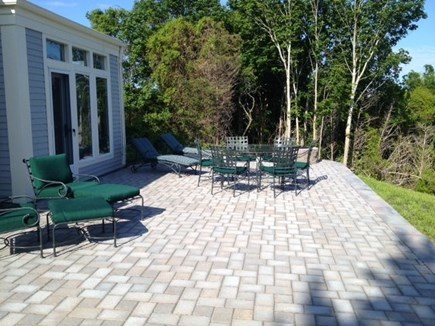 Eastham Cape Cod vacation rental - New 1,000 SF patio with dining/lounge areas and fire pit