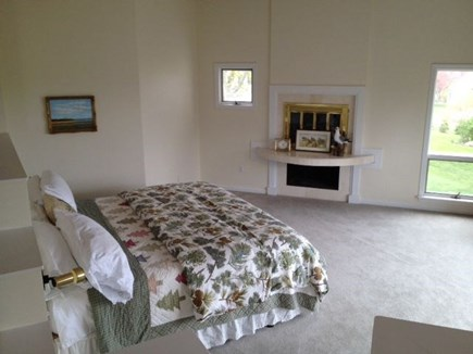 Eastham Cape Cod vacation rental - Master bedroom suite with jacuzzi and private deck