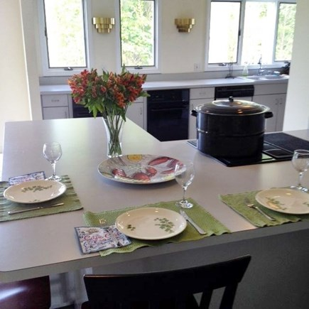 Eastham Cape Cod vacation rental - Kitchen with 2 cook tops, 2 ovens, microwave and dishwasher