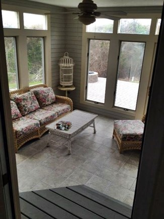 Eastham Cape Cod vacation rental - Cozy sun room with access to 1,000 SF patio