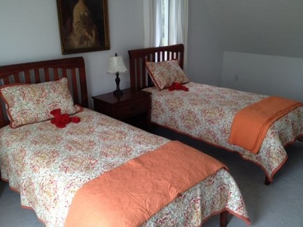 Eastham Cape Cod vacation rental - Bedroom with private bath and spacious deck