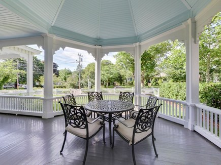 Harwich Port Center Cape Cod vacation rental - Huge wrap-around porch is great for people watching