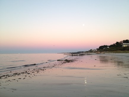 Harwich Port Cape Cod vacation rental - Low tide at sunset