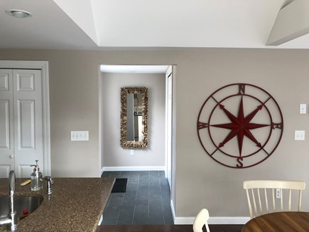 Harwich Port Cape Cod vacation rental - Entrance foyer from kitchen and dining area