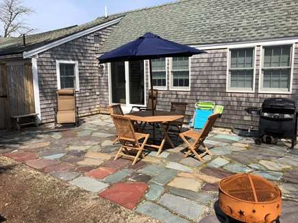 Harwich Port Cape Cod vacation rental - Patio with BBQ grill