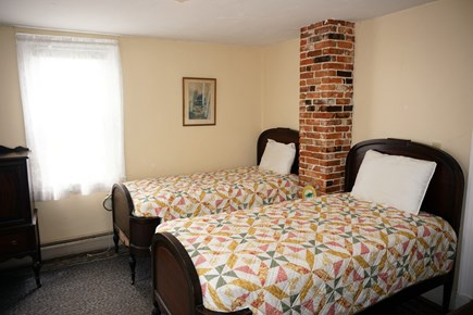 Harwich Port Cape Cod vacation rental - Bedroom #2 on first floor with 2 twin beds.