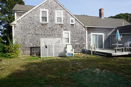 Harwich Port Cape Cod vacation rental - Large, private backyard
