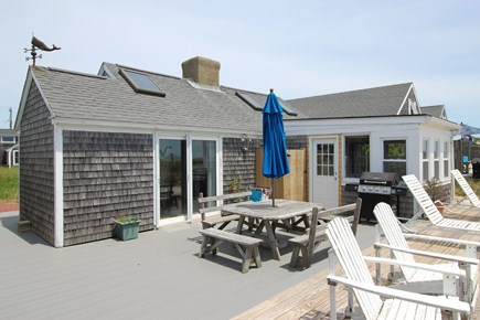 Truro Cape Cod vacation rental - Large Deck with Gas Grille, Enclosed Outdoor Shower