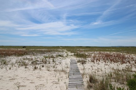 Truro Cape Cod vacation rental - Path to the Beach
