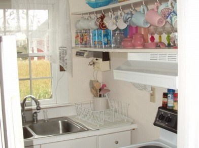 Truro Cape Cod vacation rental - Partial View of Kitchen