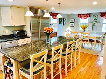 Brewster Cape Cod vacation rental - Kitchen and dining room.