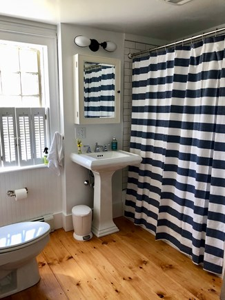 Wellfleet Cape Cod vacation rental - Bathroom on First Floor Of Main House
