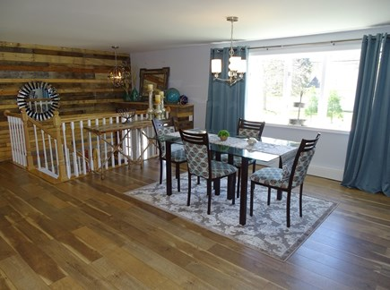 Falmouth Cape Cod vacation rental - Dining room - woods floors