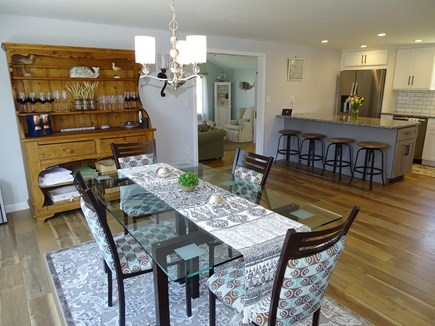 Falmouth Cape Cod vacation rental - Open floor plan - from dining area to kitchen and living room