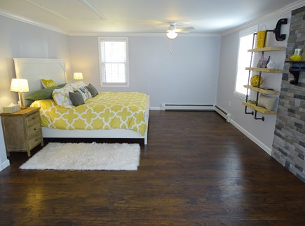 Falmouth Cape Cod vacation rental - King size Master bedroom - main floor