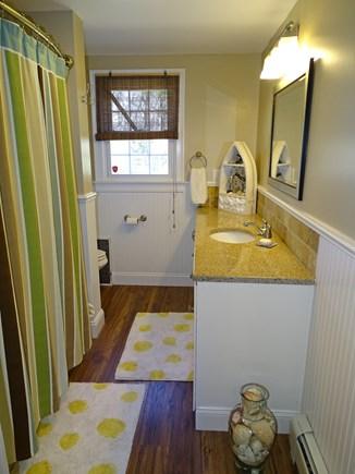 Falmouth Cape Cod vacation rental - Main floor full bathroom with tub