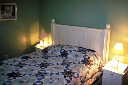 Falmouth Cape Cod vacation rental - Queen bed, access to the back yard, TV, AC