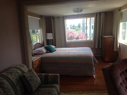 Bourne Cape Cod vacation rental - Large, sunny queen bedroom with water views & a full pull-out.