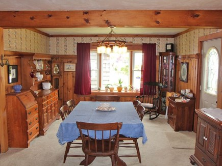 Bourne Cape Cod vacation rental - Large dining room; water views; great for dining or family games