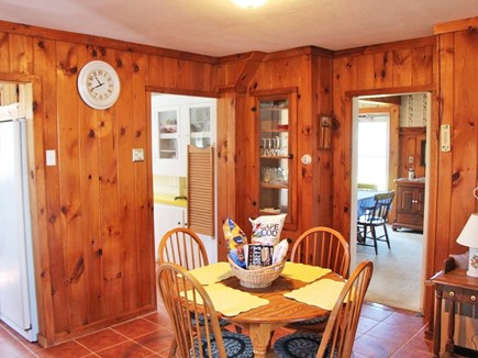 Bourne Cape Cod vacation rental - Eat in kitchen with old fashioned pantry