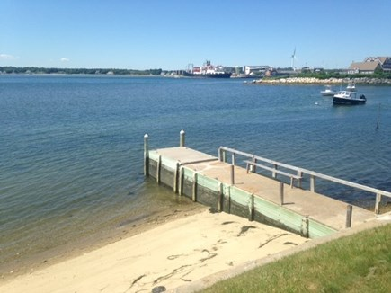 Bourne Cape Cod vacation rental - View of jetty, private beach,canal entrance and Mass Maritime
