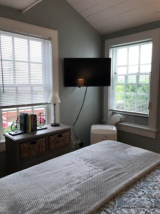 New Seabury, Maushop Village New Seabury vacation rental - 1st floor bedroom with cable TV and views of the ocean