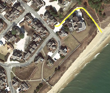 New Seabury, Maushop Village New Seabury vacation rental - Just 100 steps from Maushop's private beach!