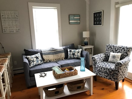 New Seabury, Maushop Village New Seabury vacation rental - Bright living room with french doors out to patio