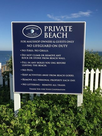 New Seabury, Maushop Village New Seabury vacation rental - Private beach just steps away