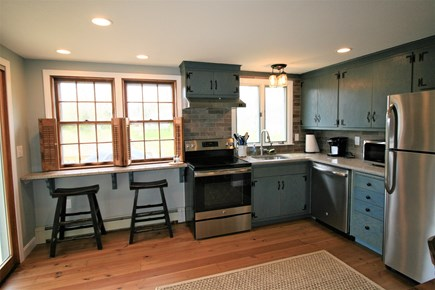 Orleans Cape Cod vacation rental - Kitchen with eat in counter overlooking the pond
