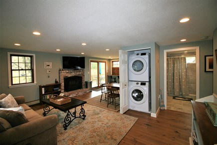 Orleans Cape Cod vacation rental - Washer and Dryer in the closet