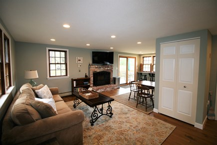 Orleans Cape Cod vacation rental - Living Room has flat screen TV